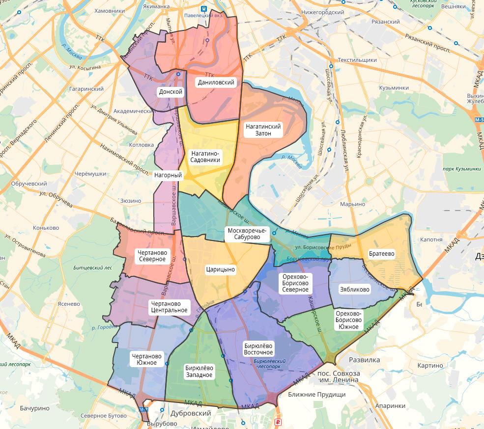 ЮАО квартиры для очередников Москвы